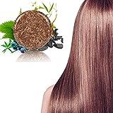 BBQAQ Soap Hair Darkening Shampoo Bar - Natural Organic Conditioner and Repair (3 pcs)