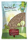 Organic Tri-Color Quinoa, 10 Pounds — Non-GMO, Raw, Whole Grain, Non-Irradiated, Kosher, Vegan, Sproutable, Bulk, Three-Color or 3-Color Blend of White, Black and Red Quinoa, Sirtfood
