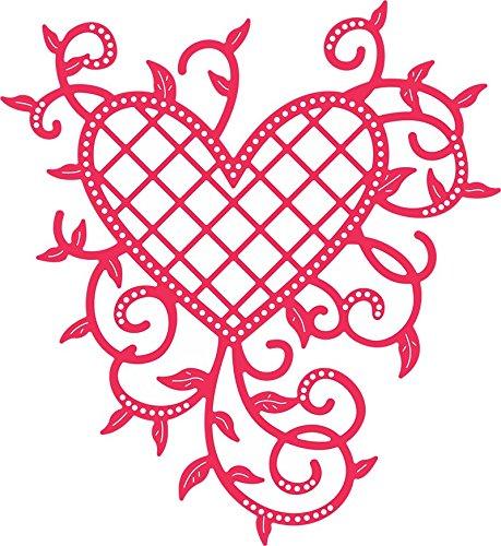 ~~~~B368 Cheery Lynn - Lattice Heart & Vines