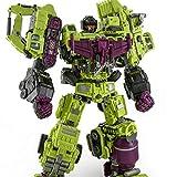 ZJXYYYzj Transformers, Oversized Devastator Giocattoli trasformazione Raffreddano KO Figura di Azione Robot Camion Auto Hook Girl Boy Toys