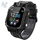 Smart Watch Phone Gift for Kids - Children Smartwatch Boys Girls with SOS Help 7 Puzzle Games Music MP3 MP4 Player HD Selfie Camera Calculator Alarms Timer 12/24 Hours for 4-12 Years Old Students
