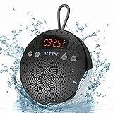 VTIN Haut-Parleur Bluetooth Etanche avec Radio FM et Réveil Enceinte...