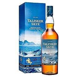 Talisker Skye Single Malt Scotch Whisky – Weicher und rauchig-würziger Single Malt Whisky aus dem Norden Schottlands – In maritimer Geschenkbox – 1 x 0,7l