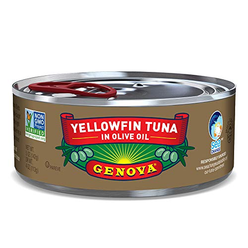 Genova Yellowfin Tuna in Olive Oil (Pack of 24)