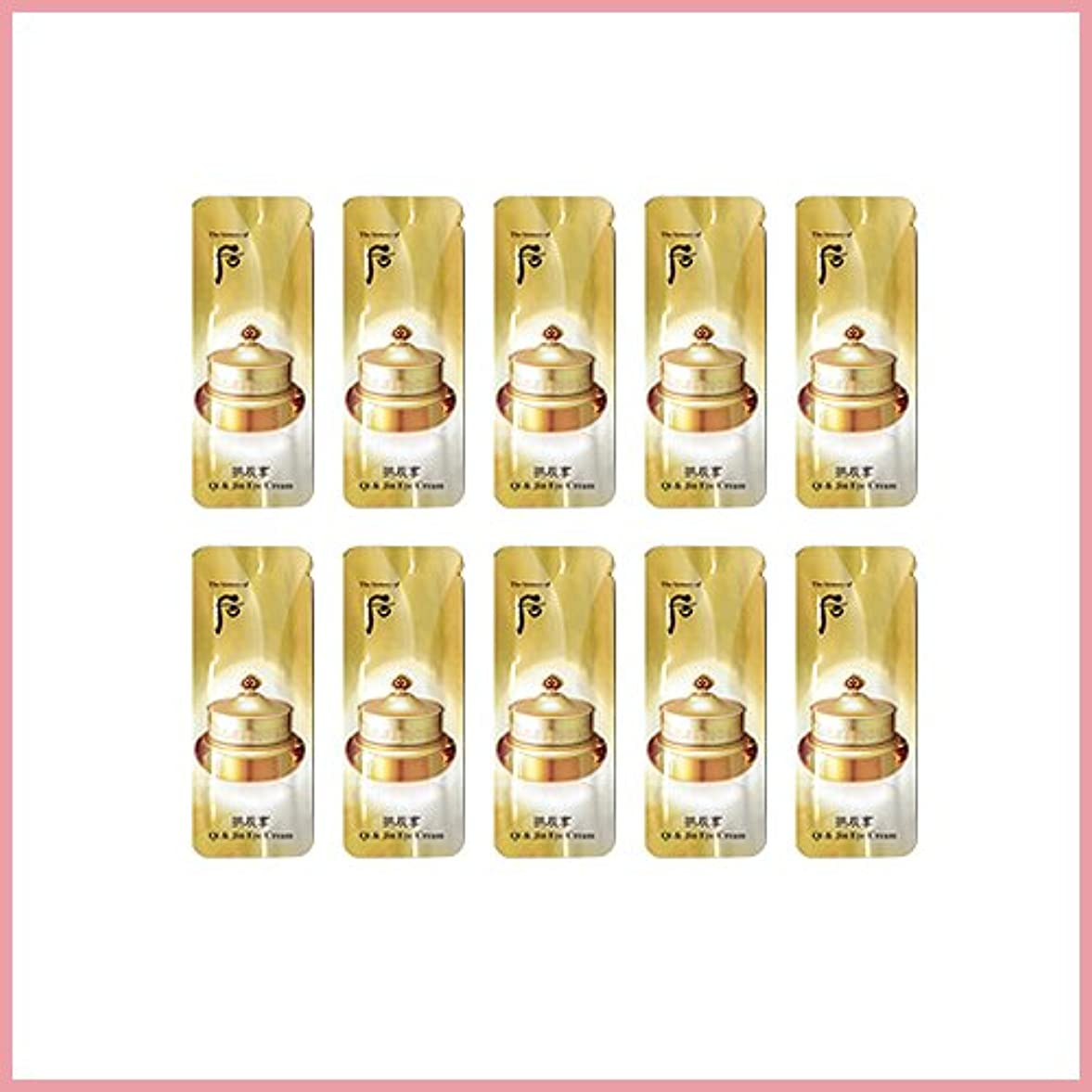 受け入れる色合い筋肉のThe History of Whoo Gongjinhyang qi en jin eye cream x 20EA [サンプル][TTBEAUTY]