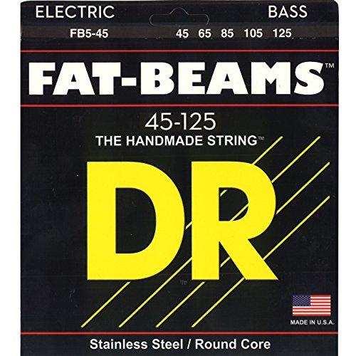 DR Strings FAT-BEAM Bass Guitar Strings (FB5-45)