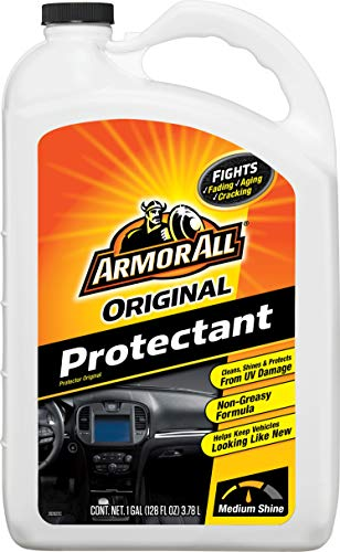 Armor All Interior Car Cleaner Protectant Refill - Cleaning for Cars & Truck & Motorcycle, 1 Gallon Bottles, 10710