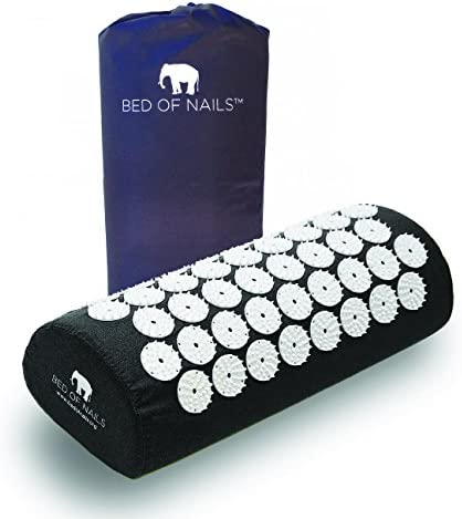 Bed of Nails Acupressure Pillow (Black)