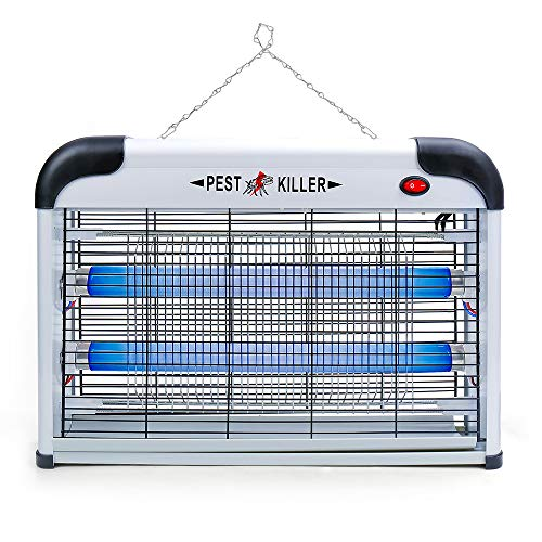 Electric Bug Zapper/Pest Repeller Control-Strongest Indoor 2800 Volt UV Lamp Flying Fly Insect Killer Mosquitoes Flies Killer Repellent Traps Eliminator Catcher Lure Zap Kills Mosquito
