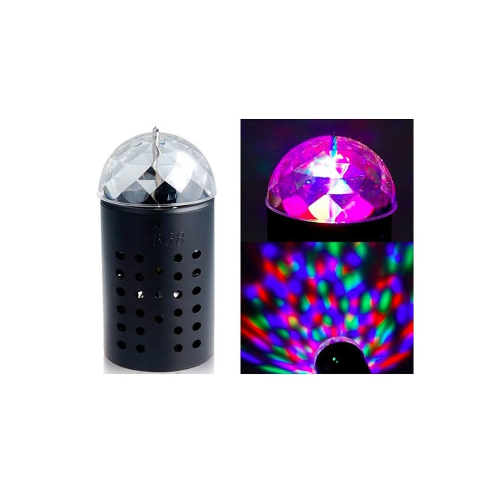 RGB 3D Projector Magic Ball 3W LED Stage Light