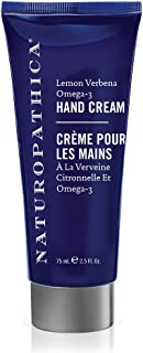 Naturopathica Lemon Verbena Omega-3 Hand Cream, 2.5 oz.