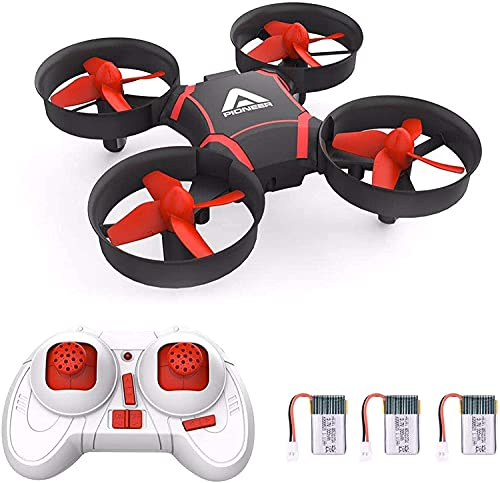 Mini Drone for Kids and Beginners- Easy Remote Control Drone, One Key Take Off, Auto-Pairing, Altitude Hold, Throw to Fly Kids Drone, Speed Adjustable Setting with 3 Batteries Ideal Gift for Kids