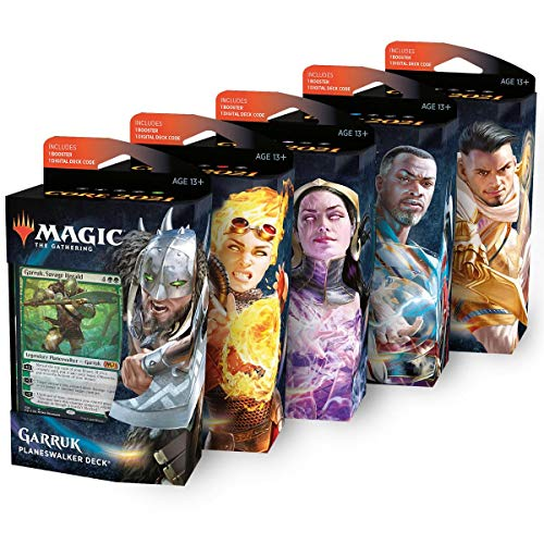 MTG Core Set 2021 Planeswalker Deck Englisch, Bundle, Magic: The Gathering