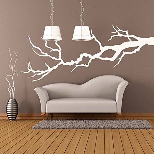 denoda® Kahler AST - Wandtattoo Braun 115 x 50 cm (Wandsticker Wanddekoration Wohndeko Wohnzimmer Kinderzimmer Schlafzimmer Wand Aufkleber)
