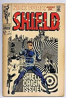 Nick Fury Agent of SHIELD #4 ORIGINAL Vintage 1968 Marvel Comics Jim Steranko