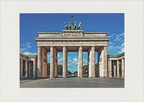 Handmadegruß Städte Mix, eine edle Top Grußkarten Serie durch europäische Städte, Berlin. Die Top Neuheit aus dem Dieth Kulturverlag.