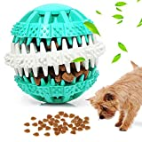 Palla Giocattolo per Cani, Jkevow,Spuntini Per Cani Palla Da Gioco Elastica Intellettuale, Non Tossica Palla Resistente al morso, Palla Per Pulire I Denti Da Masticare