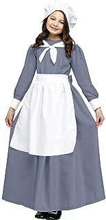 Fun World - Pilgrim Girl Child Costume