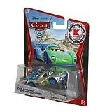 Disney / Pixar CARS 2 Movie Exclusive 155 Die Cast Car SILVER RACER Carla Veloso