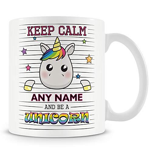 Keep Calm and Be A Unicorn Mug Gift