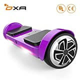 OXA Hoverboard - UL2272 Certified Self Balancing Scooter 20 Lithium Batteries (144 Wh) Ensure 17 km Range on a Single Charge, 2 Modes for All Ages