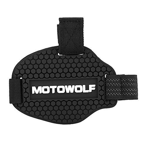 Keenso Motorrad Gangschaltung Pad Gummi Gangschaltung Schuhe Stiefel Scuff Protector Shifter Guards Schwarz