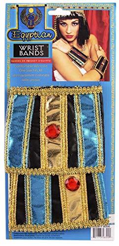 Forum Novelties Incredible Character Egyptian Costume Wrist Bands Pair