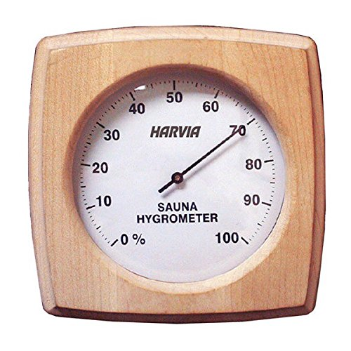 Janilec BWS133 Harvia Sauna Hygrometer 130 mm Länge x 130 mm Breite