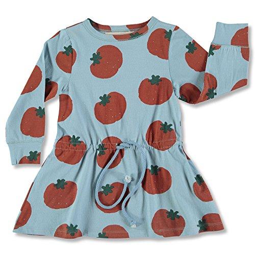nadadelazos Dress Pomodoro Vestido para Bebés
