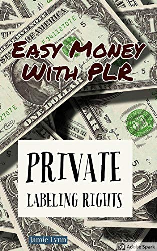 Easy Money With PLR: Private Labeling Rights (English Edition)