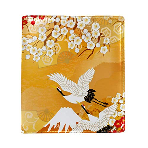 Mooie Kimono Van Illustraties Van JapanPU leer, enkelzijdig bedrukken, polyester boek-gevoerde grote boekomslag