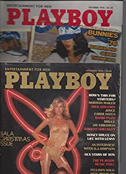 Playboy Magazine October/December 1976