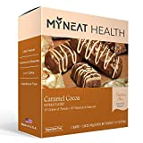 Neat Nutrition Meal Replacement Bar - Caramel Cocoa Flavor Pre Workout Protein Bars - High Protein, Low Carb, Low Fat, 160 Calories (Caramel Cocoa)