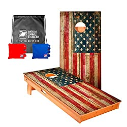 American Flag Cornhole Game