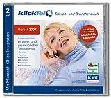 KlickTel Telefon- und Branchenbuch Herbst 2007 -
