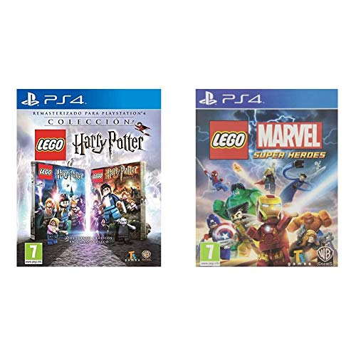 Lego Harry Potter Collection - PlayStation 4. Edition: Estándar + Marvel Super Heroes - Edición Estándar