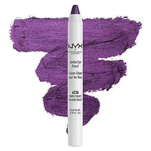 NYX PROFESSIONAL MAKEUP Jumbo Eye Pencil, Eyeshadow & Eyeliner Pencil - Purple Velvet (Violet)