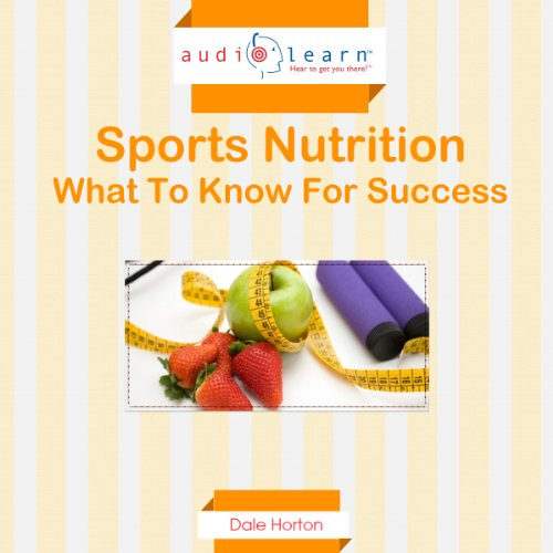 Sports Nutrition AudioLearn Titelbild