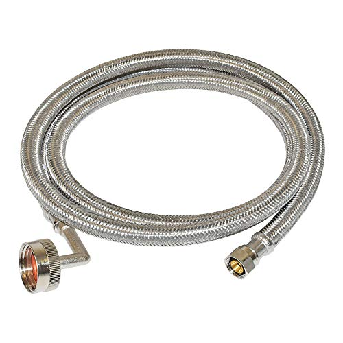 Eastman 41043 Stainless Steel Dishwasher Connector, 6 Ft, Chrome