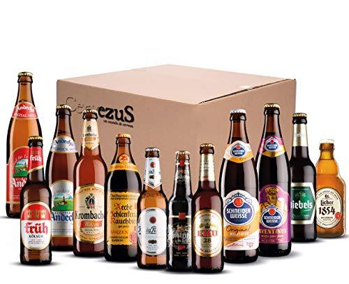 Cervezas Alemanas (Pack 12 variedades) - Pack Cerveza Alemana - Cerveza Alemana - Cervezas del Mundo Regalo - Pack Cervezas del Mundo Regalo - Cervezas del Mundo - Cerveza Alemana Regalo