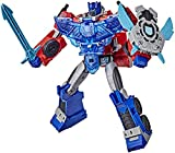 Transformers Bumblebee Cyberverse Adventures Battle Call Officer Optimus Prime, stimmenaktivierte Lichter und Sounds
