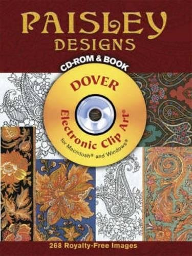 Paisley Designs (Dover Electronic Clip Art)