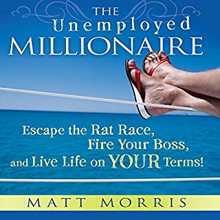 The Unemployed Millionaire audiobook cover art