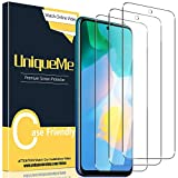 UniqueMe [3 Pack] Protector de Pantalla para Huawei P Smart 2021, Vidrio Templado [9H Dureza] HD Film Cristal Templado