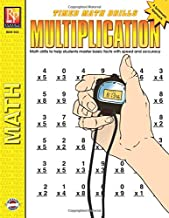 Timed Math Drills: Multiplication | Reproducible Activity Book