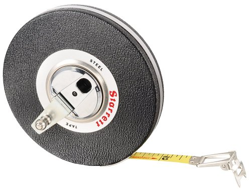 "530-100 3/8"" x 100' Closed Reel Steel Long Tape"