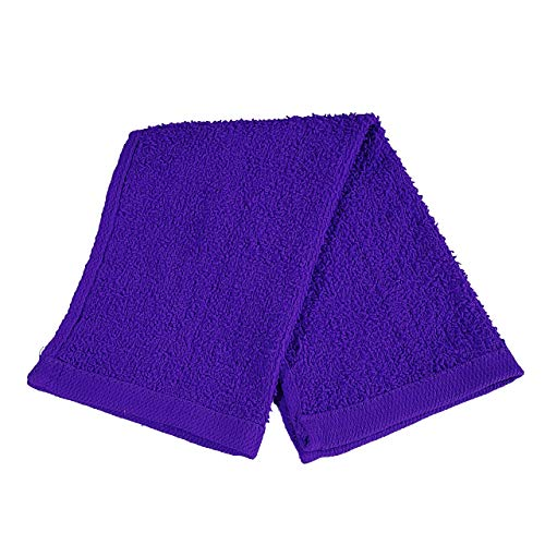 Set of 24- Affordable Cheap Rally Towels Purple