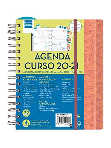 Finocam – Agenda Docente 2020-2021 Quarto – 155 x 212 settimana vista panoramica Magistral Esa Spagnolo