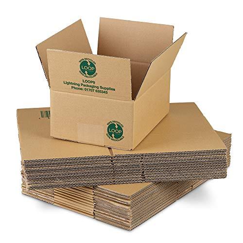 per spedizione postale TPLBX10SINGL12X9X12 misura media formato A4 scatola di cartone 305 x 229 x 305 mm Triplast
