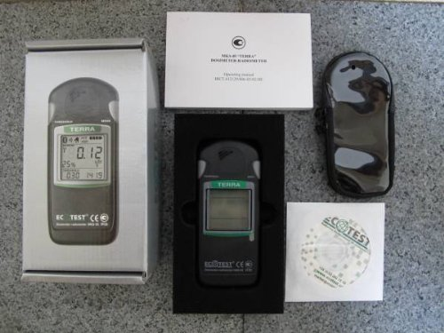 Iboxstore RADIATION DOSIMETER TERRA with Bluetooth Geiger Counter DETECTOR MKS-05